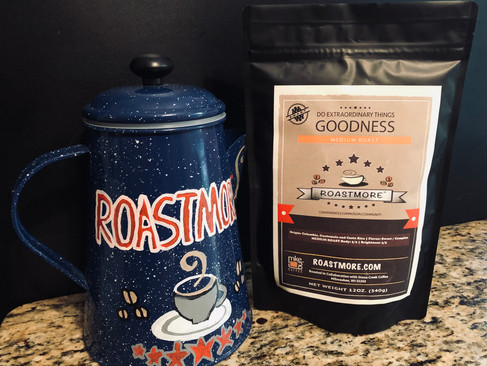 Origin: Colombia, Guatemala and Costa Rica | Flavor: Sweet / Complex MEDIUM ROAST Body: 5/5 | Brightness: 3/5