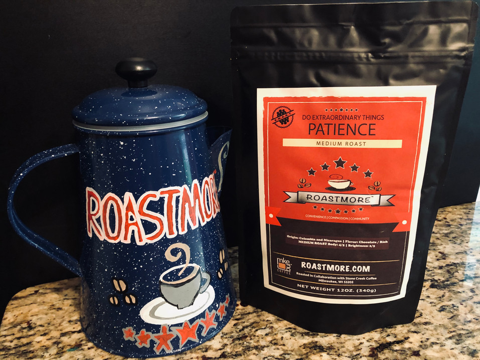 Origin: Colombia and Nicaragua | Flavor: Chocolate / Rich MEDIUM ROAST Body: 4/5 | Brightness: 2/5