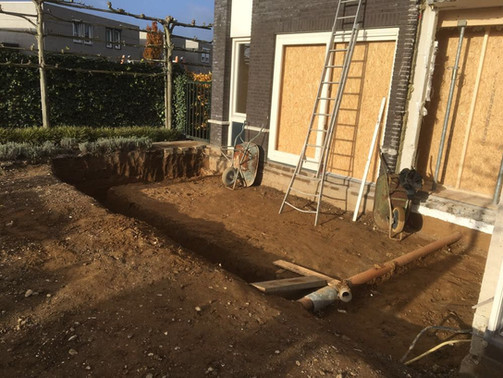 Verbouwing: aanbouw woonhuis Echt