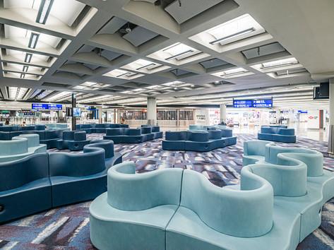 Hong Kong International Airport - Waiting Area