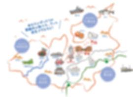 舞鶴の4つの地域