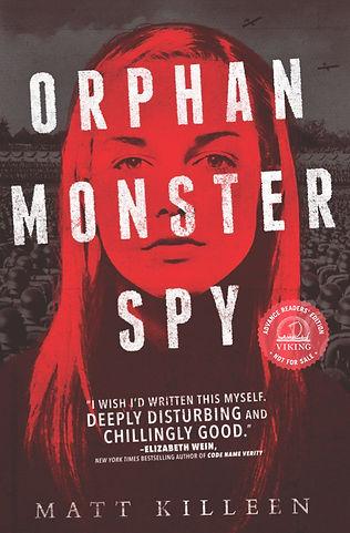 Orphan Monster Spy bookcover