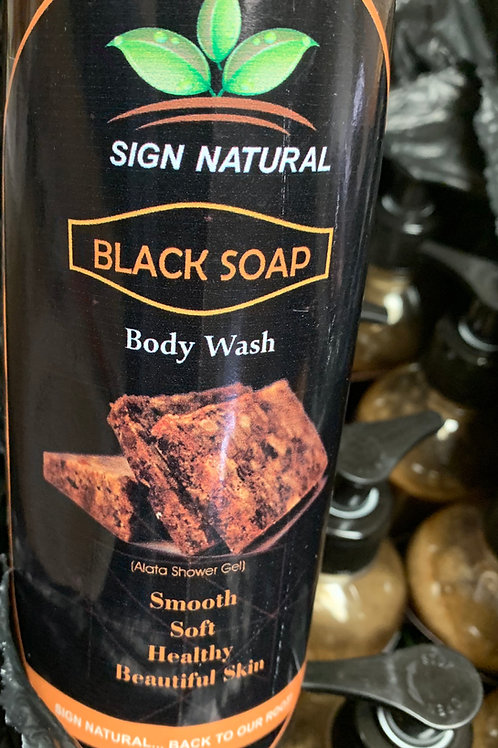 Black Soap Body Wash - Made In Ghana