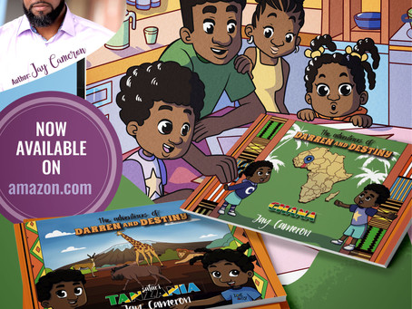 Jay Cameron Introduces The Adventures of Darren and Destiny Children's Book Series