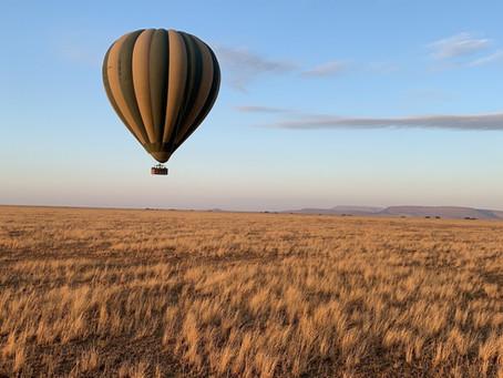 The Balloon Ride - Serengeti
