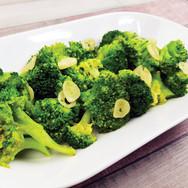 Broccoli cu Usturoi si Unt