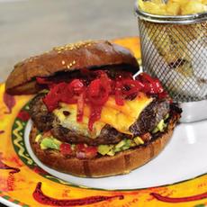 Mexican Burger   35.00 Ron