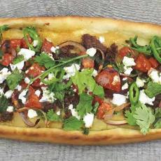 Kebab Pita cu Hummus | 27.00 Ron