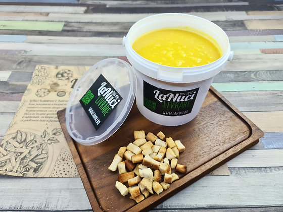 Supa Crema de Morcovi cu Linte
