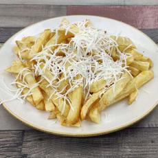 Cartofi Prajiti cu Branza Rasa | 9.50 Ron