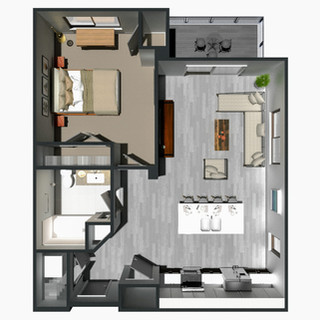 RENTED / 1 Bedroom [B] / from $1,195