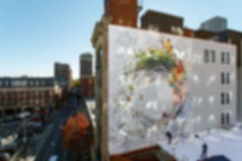 """Sanctuary mural,  """"sancturary"""" mural, Wellness Mural """"Sanctuary"""""""