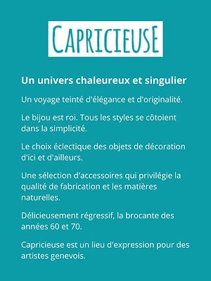 Description Capricieuse