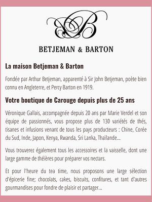Présentation Betjeman & Barton