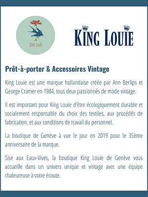 Présentation King Louie
