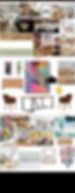 Interior Design Selection Mood Board - Contemporary Design