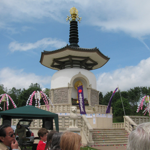 Nipponzan Myohyoji Peace Pagoda