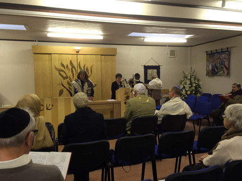 Abrahamic Faiths Service in Synagogue