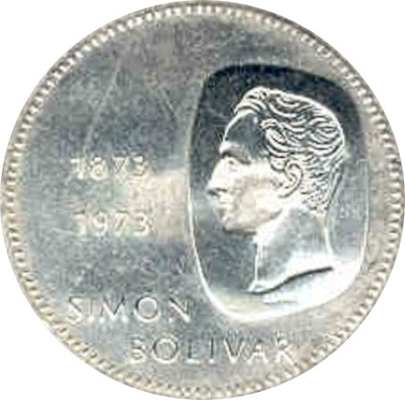 VENEZUELA. 10 BOLÍVARES 1.973