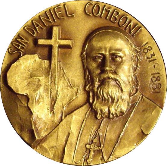 ESPAÑA. MEDALLA SAN DANIEL COMBONI 1831-1881