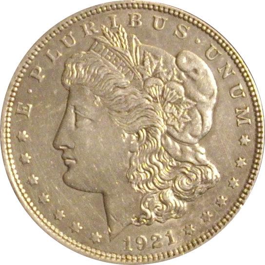 USA. 1 DÓLAR MORGAN 1.921