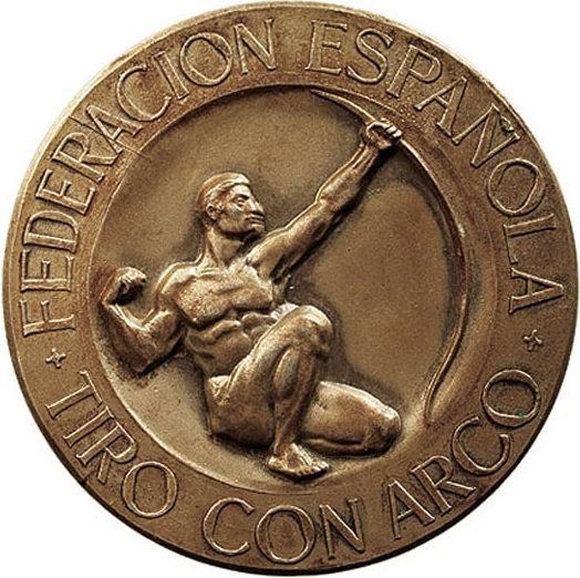 MEDALLA FEDERACIÓN ESPAÑOLA DE TIRO CON ARCO. 1.970
