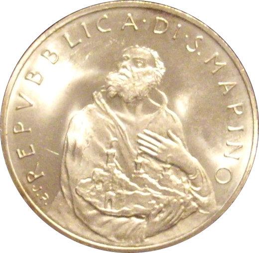 SAN MARINO. 500 LIRAS. 1.979