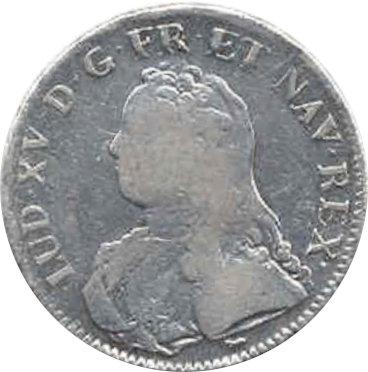 FRANCIA. LUIS XV. 1 ECU 1.726 PARÍS