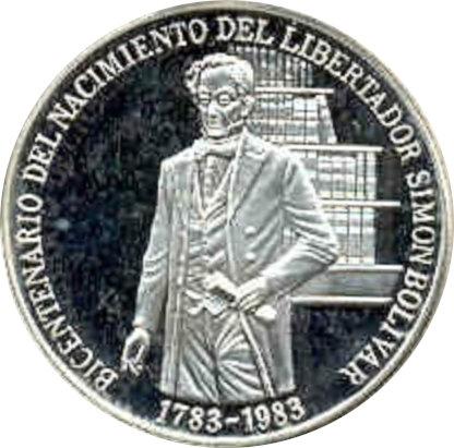 VENEZUELA. 100 BOLÍVARES 1.983