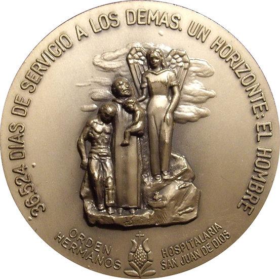 ESPAÑA. MEDALLA ORDEN HOSPITALARIA SAN JUAN DE DIOS. 1.992