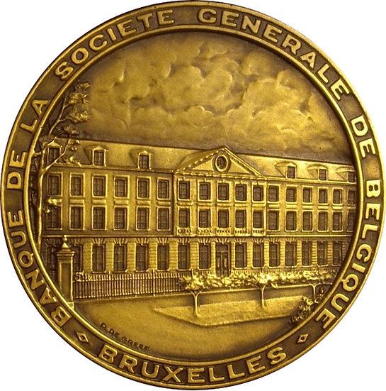 BÉLGICA. MEDALLA EXPOSICIÓN UNIVERSAL DE BRUSELAS. 1.958