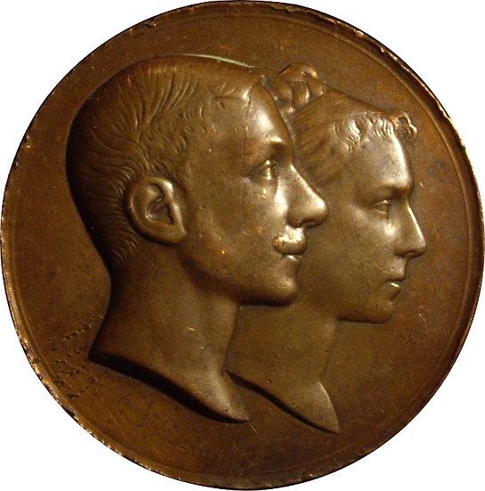 ESPAÑA. ALFONSO XII. BODA CON MARÍA DE LAS MERCEDES. 1.878