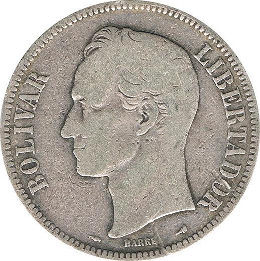 VENEZUELA. 5 BOLÍVARES 1.901
