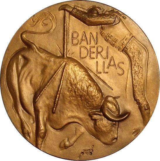 ESPAÑA. MEDALLA F.N.M.T. TAUROMAQUIA -BANDERILLAS-. 1.963