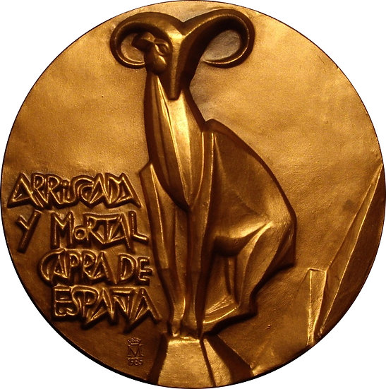 MEDALLA F.N.M.T. CAPRA HISPÁNICA. 1.985