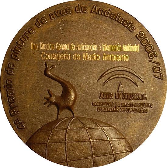 ESPAÑA. MEDALLA DÍA MUNDIAL DE LAS AVES. 2007