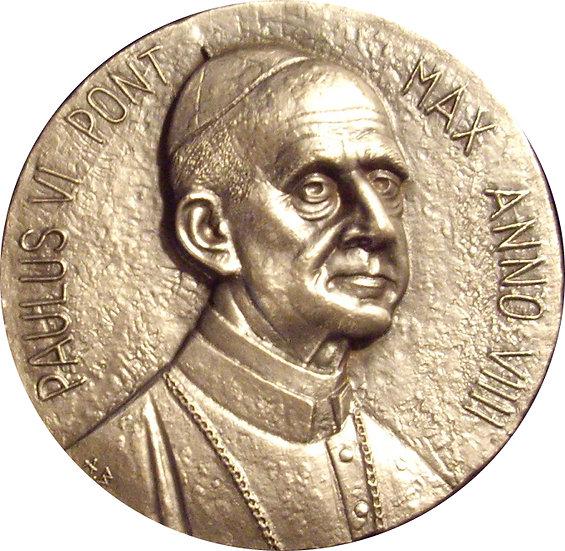 VATICANO. MEDALLA PABLO VI. MEDALLA PLATA. 1.971