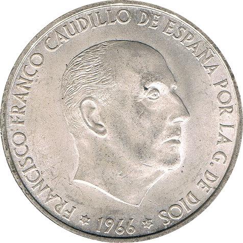ESPAÑA. FRANCISCO FRANCO. 100 PESETAS 1.966 *67