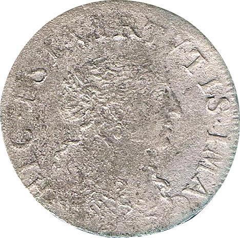 FRANCIA. LUIS XIV. 1/12 ECU. 1.666