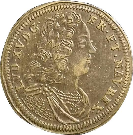 FRANCIA. LUIS XV. JETÓN MICHAEL LEICHKA VFF RECHN PF