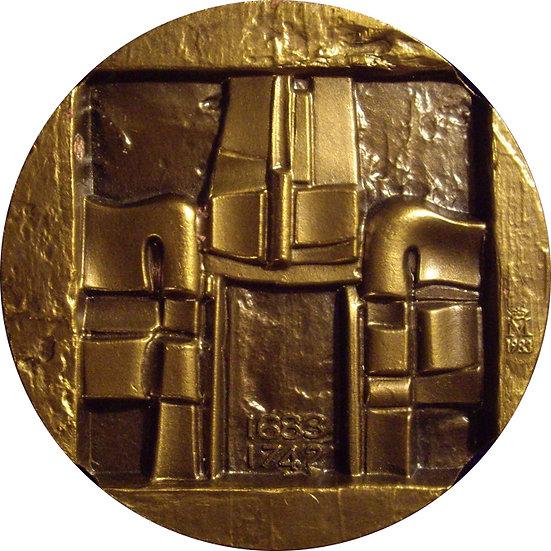 ESPAÑA. MEDALLA F.N.M.T. PEDRO DE RIBERA 1.983
