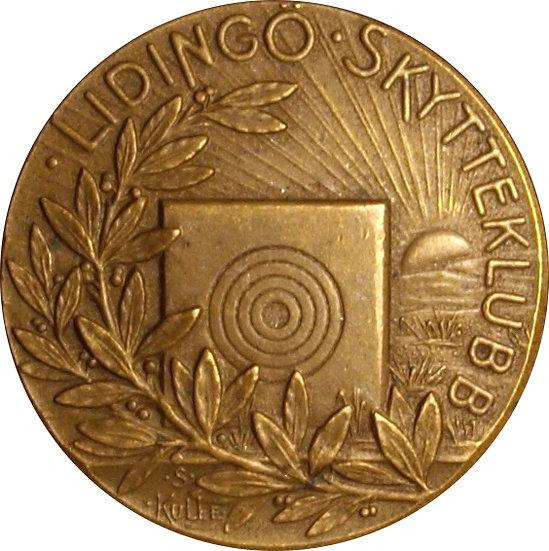 NORUEGA. MEDALLA DEPORTIVA. 1.946