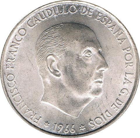 ESPAÑA. FRANCISCO FRANCO. 100 PESETAS 1.966 *66