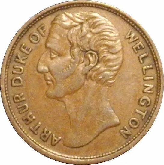 INGLATERRA. TOKEN. DUQUE DE WELLINGTON