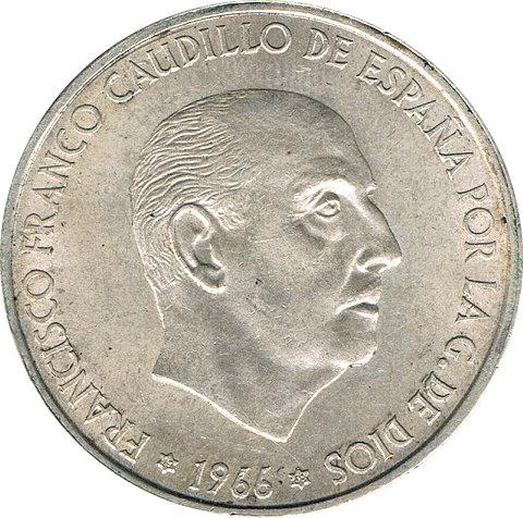 ESPAÑA. FRANCISCO FRANCO. 100 PESETAS 1.966 *68