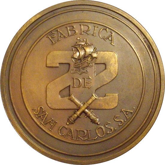 ESPAÑA. MEDALLA FÁBRICA NAVAL DE SAN CARLOS. CÁDIZ. 1.971