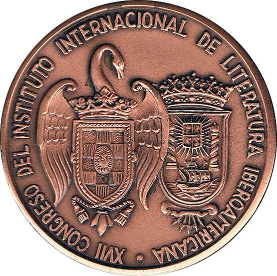 ESPAÑA. MEDALLA XVII CONGRESO DE LITERATURA IBEROAMERICANA. 1.975