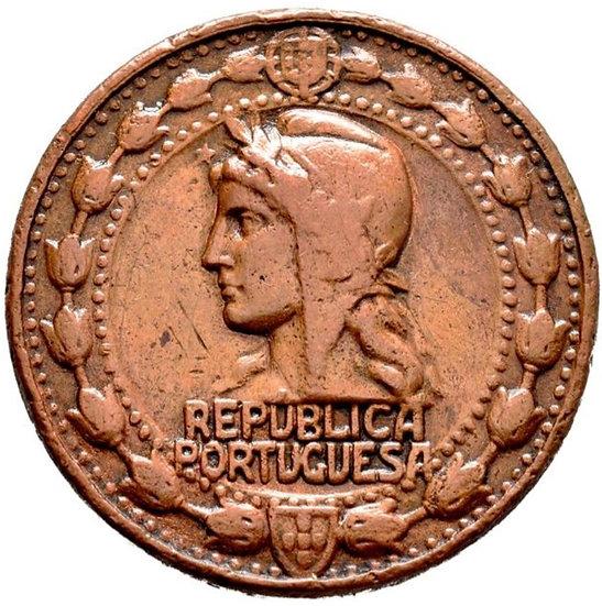 PORTUGAL. MEDALLA CAMPAÑAS DEL EJÉRCITO PORTUGUÉS. 1.916