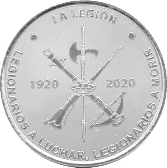 ESPAÑA. MEDALLA CENTENARIO DE LA LEGIÓN ESPAÑOLA. 2.020