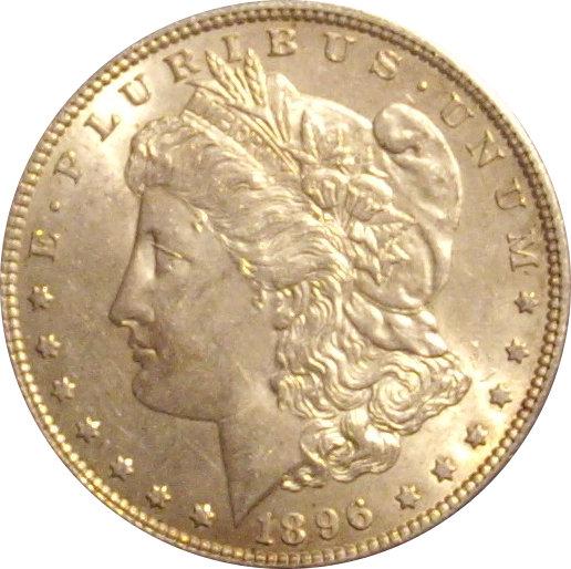 USA. 1 DÓLAR MORGAN 1.896